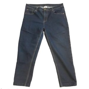 DC Crop Blue Jeans, great condition size 30